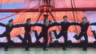 Флотский танец.