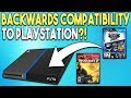 BACKWARDS COMPATIBILITY to PLAYSTATION?! SONY Files a Patent!