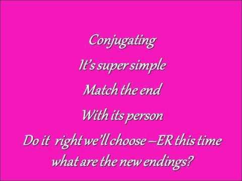 Conjugating Verbs - Gangnam Style Parody (-AR, -ER, -IR)