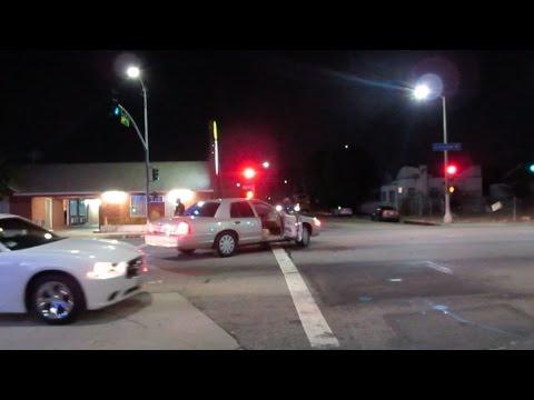 South Central LA    Crenshaw and Slauson at night