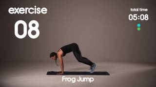 Fun HIIT Circuit for Kids - No Equipment Home Workout