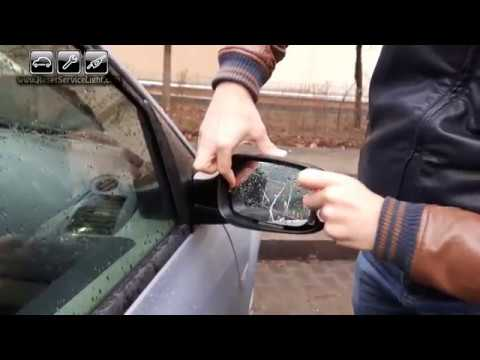 Replace wing heated mirror glass Renault Clio 3 III 2005-2014