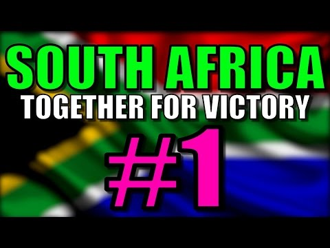 Hearts of Iron 4 Together for Victory - South Africa Let's Play | Hearts of Iron 4 Gameplay: Part 1