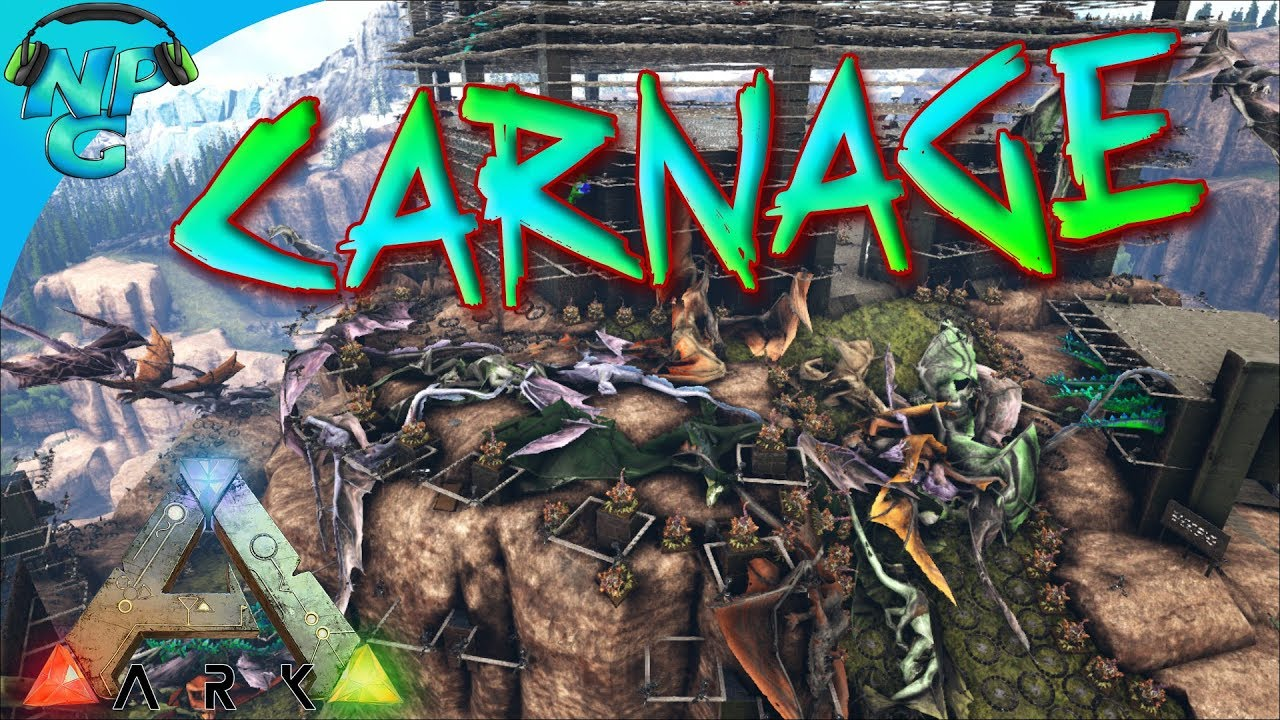 ARK Raid - Entire Server Attacks Nerd Parade Ragnarok Base! ARK Ragnarok  PVP E41