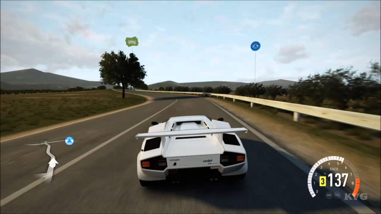 Lamborghini Countach Lp5000 Qv 1988 Forza Horizon 2
