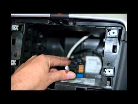 Brico instalación de reposacabezas dvd + tv + navegador ...