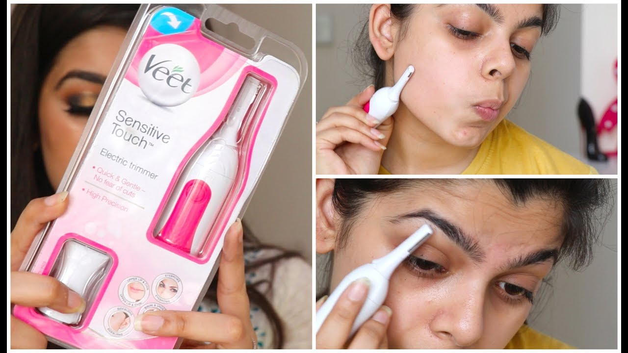 Veet Sensitive Touch Electric Trimmer Review Youtube