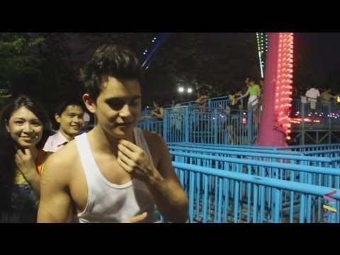 Diary ng Panget The Movie try Star City rides! [EXCLUSIVE]