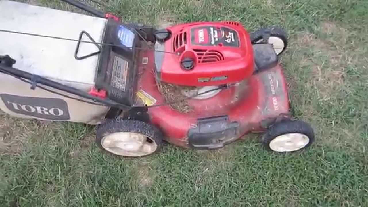 Toro Recycler Lawn Mower Model 20072 Neighbor S Won T Start Was Low On Oil Oct 9 2017