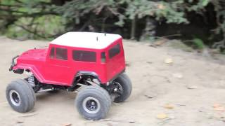 RC Cars : RC Crawler Axial  & Tamiya Toyota Land Cruiser  FJ40 | private Show 2017 - #1