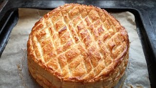 How To Make An Easy Galette Des Rois - Sweet Almond Filling (epiphany Cake)