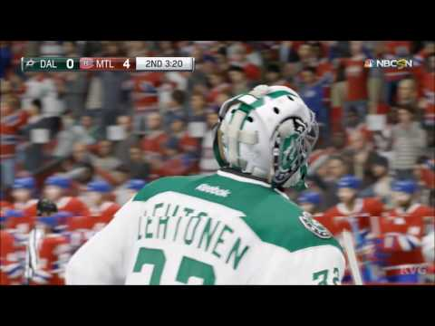 NHL 17 - Dallas Stars vs Montreal Canadiens | Gameplay (HD) [1080p60FPS]