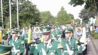 Bundesköniginnentage 2014 Der Zapfenstreich Königshoven