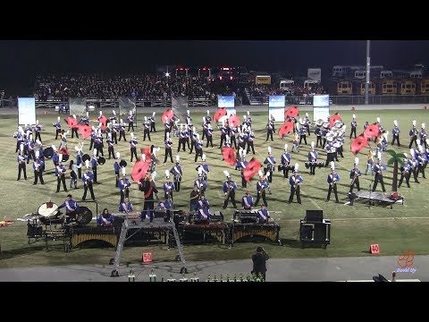 Athens Drive High School Marching Band at White Oak 10/12/2019