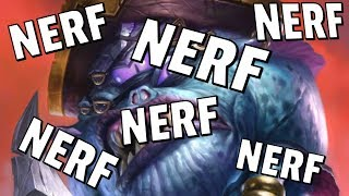 Hearthstone Balance Changes - PATCHES NERFED and more