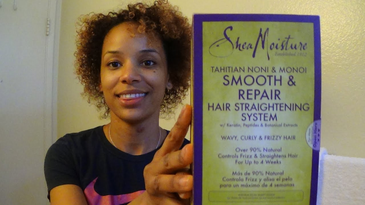 Japanese straight perm price - Japanese Straight Perm While Pregnant Shea Moisture Straightening System Pt 2 Youtube