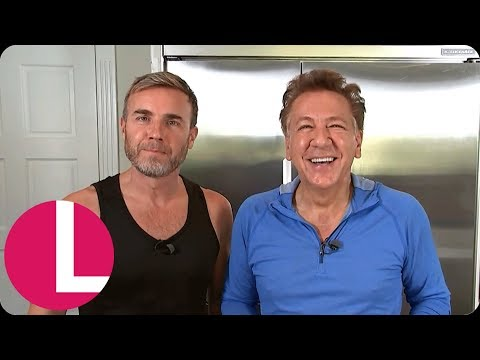 Gary Barlow Takes Ross King Hiking and Talks Turning His Life Around  Lorraine