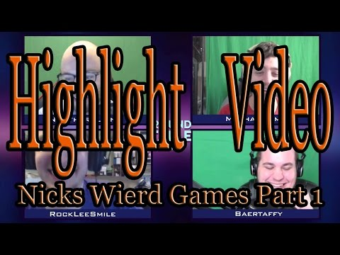 Roundtable Podcast Nicks Weird Games Theme Songs  Part 1