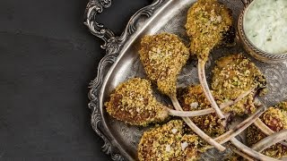 How To Make Edamame-crusted Lamb Lollipops