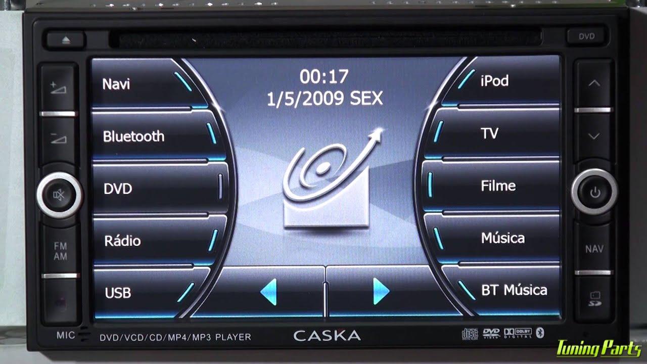Central Multimidia Caska Smart Series Demonstra 231 227 O Youtube