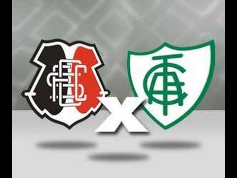 Santa Cruz 1 X 0 América MG Gol Léo Moura 34ª Rodada do Brasileirão 06/11/2016Gol Léo Moura