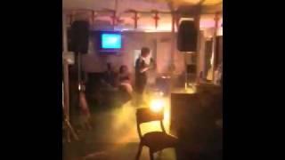 CJ does karaoke