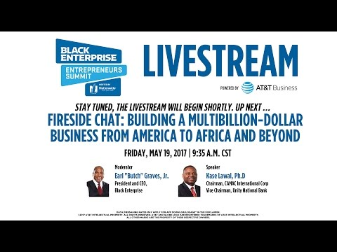 Fireside Chat: Building a Multibillion Dollar Business from America to Africa and Beyond