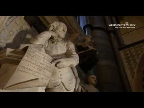 Poets' Corner at Westminster Abbey