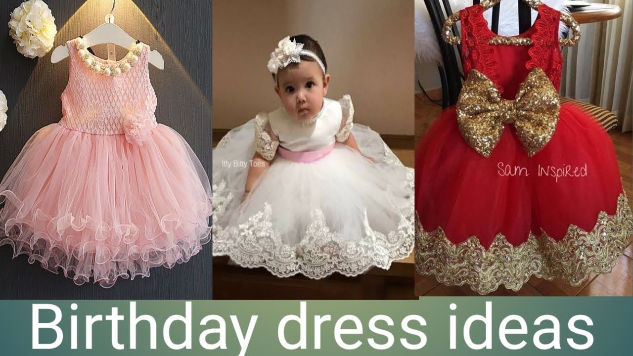 Birthday dress ideas for one year old baby girl. First birthday dresses  ideas.