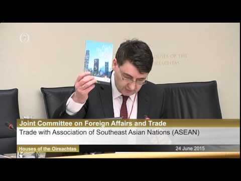 24 June, 2015 Asia Matters - Expanding Ireland's Trade with ASEAN Part 1
