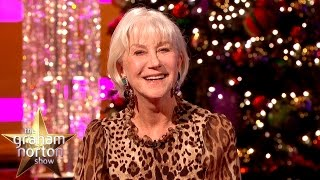 Dame Helen Mirren's VERY Alternative Christmas Message - The Graham Norton Show