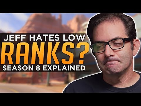 Overwatch: Jeff Doesn't HATE Low Ranks! - SR Adjustments EXPLAINED!