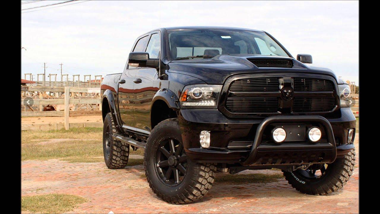 2015 RAM Regency Black Hawk Lifted Truck - YouTube