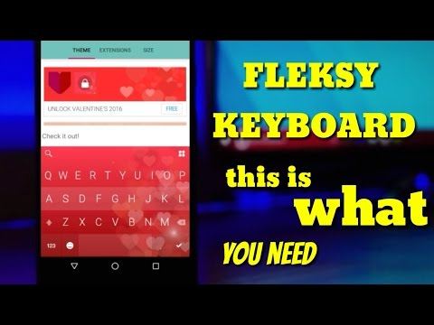 Fleksy Keyboard Review 2016 | Best Ever Keyboard For Android