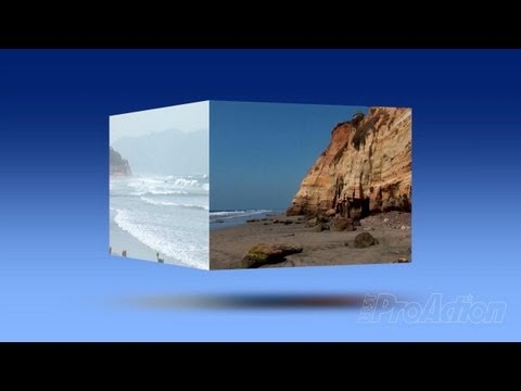 How to create a spinning video cube in Adobe Premiere Pro.