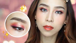 ✨ Glitter Eyes ✨ Festival Makeup Tutorial  | TINA YONG
