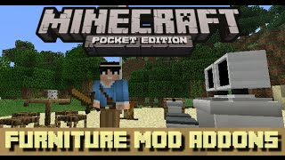 MOD FURNITURE By- DanHerePE apk - Minecraft Pocket Edition -