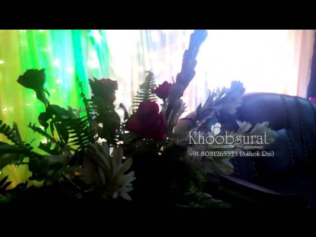 khoobsurat anniversary ring ceremony stage nirwana +918081265333