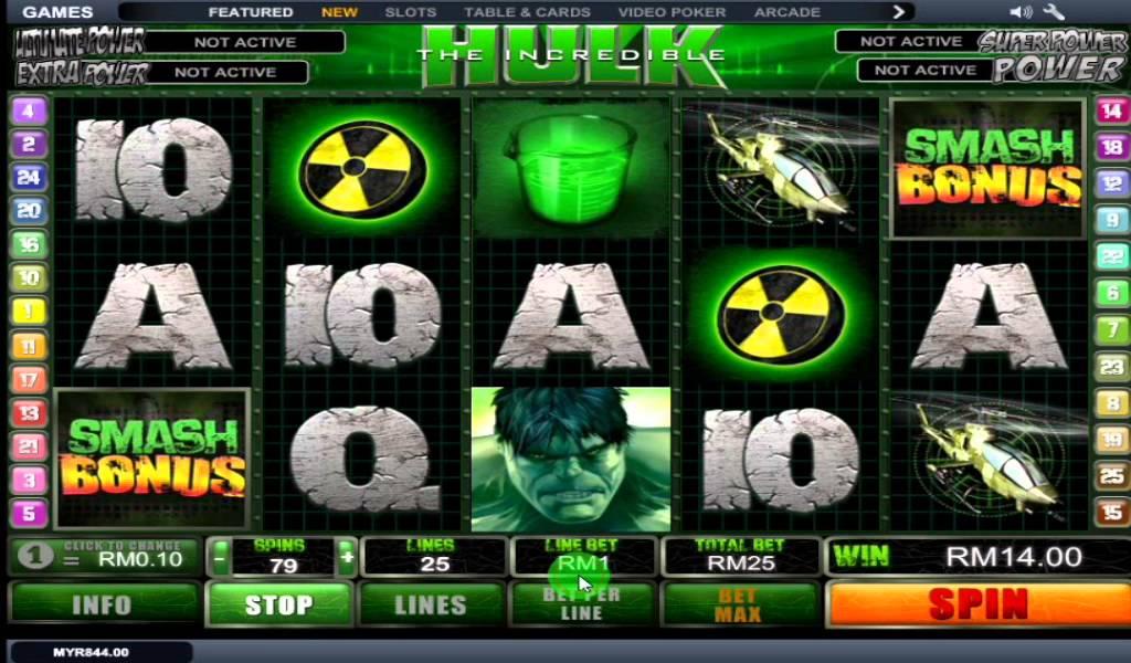онлайн в казино халк