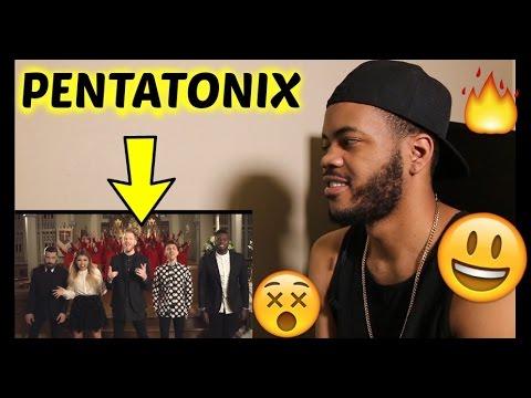 [OFFICIAL VIDEO] O Come, All Ye Faithful - Pentatonix REACTION!!!