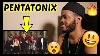 [OFFICIAL VIDEO] O Come, All Ye Faithful - Pentatonix REACTION!!!