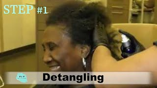 Wash & GO like a Pro: Step 1- The Art of Detangling without Hair Breakage
