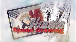 My Hero Academia: Hawks Speed Drawing