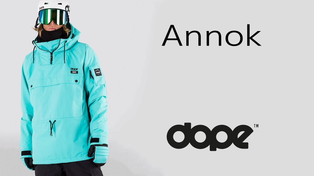 167f36a385 DOPE ANNOK - Snowboard Jacket - YouTube