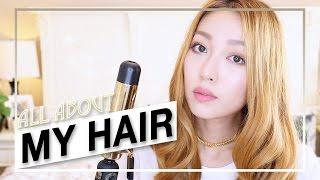 ♡All About My Hair【♡ 如何打理头发和日常卷发教程】