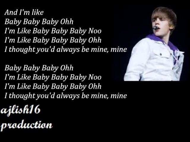 Baby Justin Bieber Song Video Download