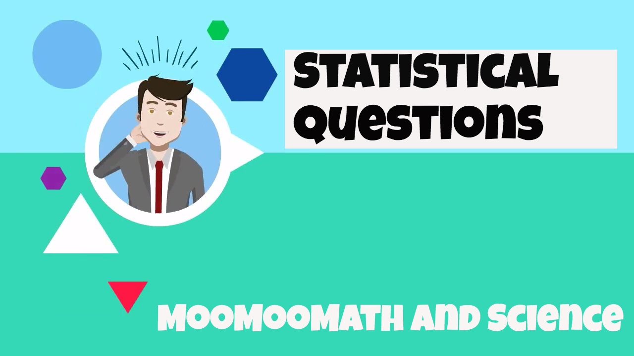 Statistical Questions-6th Grade Math - YouTube