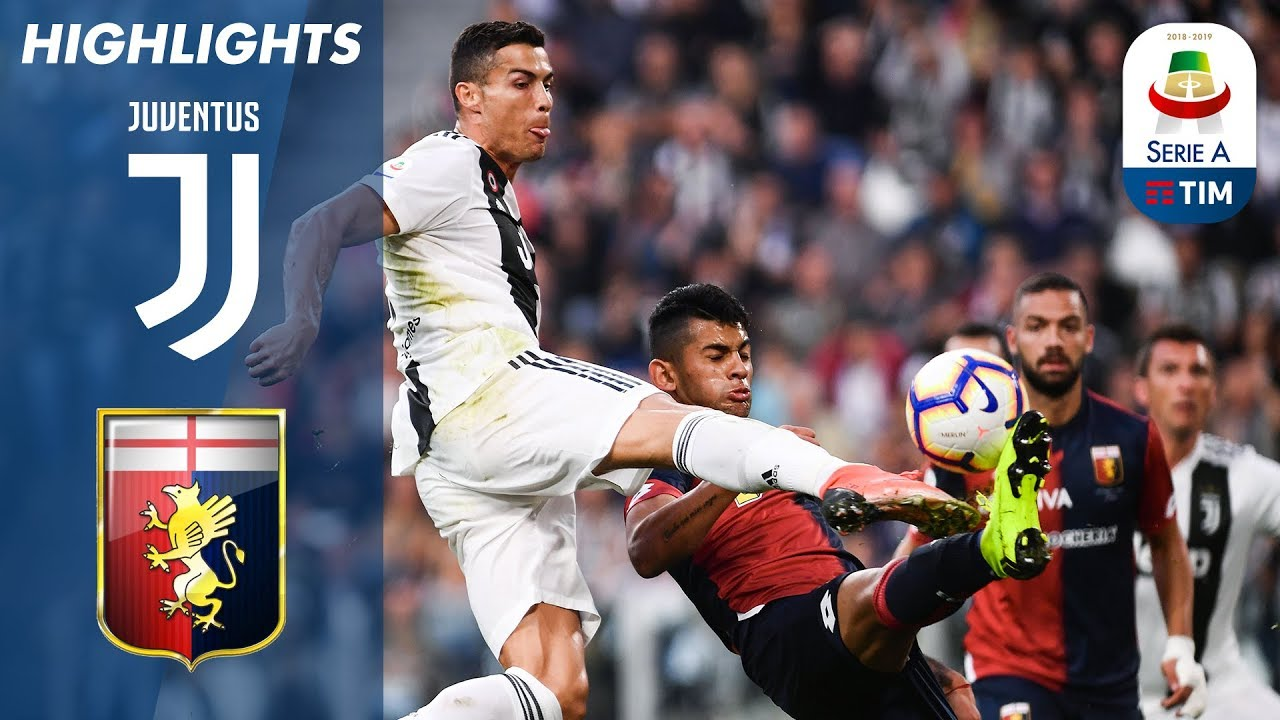 Juventus 1 1 Genoa Ronaldo Goal Not Enough Serie A