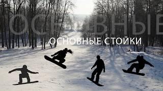 Обучение сноуборду, урок №1. Фундаментальные упражнения
