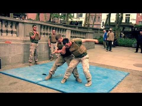 US MARINE FIGHT